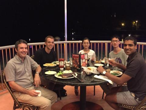 Delaire group dinner