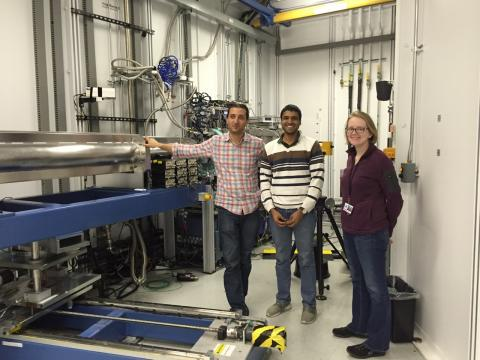 Delaire group measuring phonons with inelastic x-ray scattering at HERIX/APS